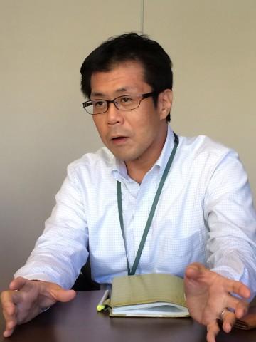 営業本部 制作部 部長 長濱智之さん