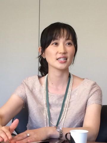 営業本部 営業企画部 部長代理 田村素子さん
