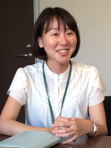 営業本部 制作部 國島絵美さん