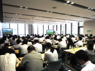 日本で開催したセミナーで発表も