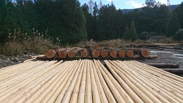 しっかりと管理され、消費者に届く速水林業のFSC認証材。