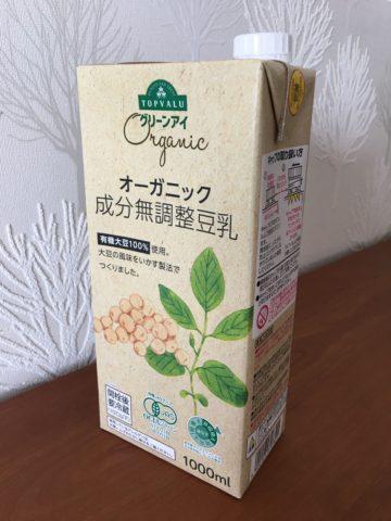 トップバリュ豆乳1